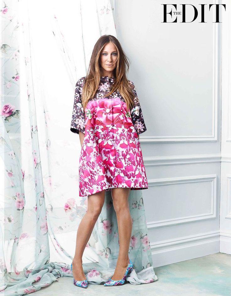 Sarah Jessica Parker Net-a-Porter.com Photoshop For The Edit | POPSUGAR Fashion