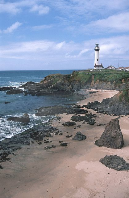 Whaler's Cove and Pigeon Point Lighthouse in Pescadero, CA,  plus a great trail right across Highway 1 called Wilbur's Watch, courtesy of Peninsula Open Space Trust. Great whale watching spot too!