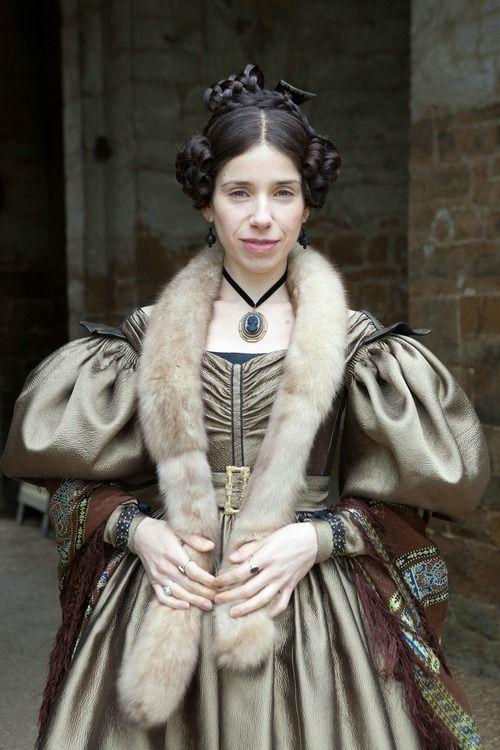 Sally Hawkins as Mrs. Reed in Jane Eyre (2011).