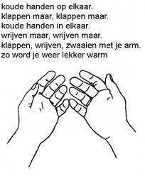 Versje Winter -Koude handen