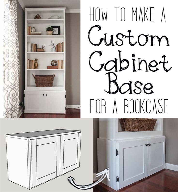 Best 25 custom cabinet doors ideas on pinterest custom for Custom bookcase plans