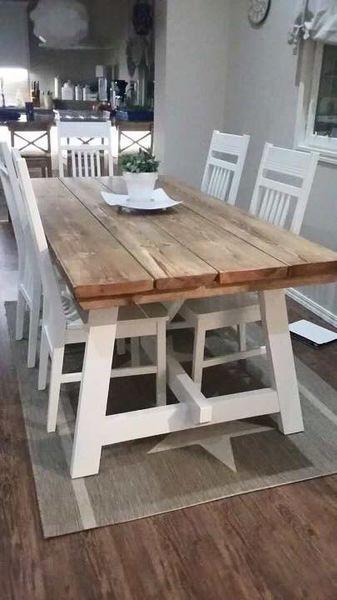Pirtti- Ruokapöytä | Puutyö Salonen