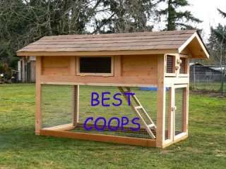 Chicken Coop Plan # 5 * * * *
