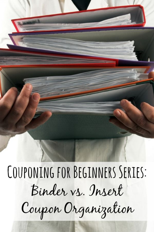 So you're a couponing beginner and you've got all these coupons.  Now what?  What do you does a coupon beginner do with these coupons so they don't get lost or damaged but are easy to find?  You organize them of course!  Here are the two most popular coupon organization techniques broken down with pros and cons for coupon beginners!