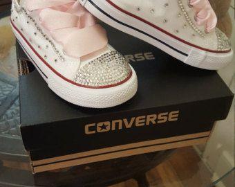 """Custom """"Simple Bling"""" Converse"""