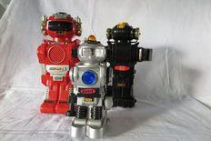 Dickie Spielzeug- Magic Mike II- Drie Robots- jaren 1980