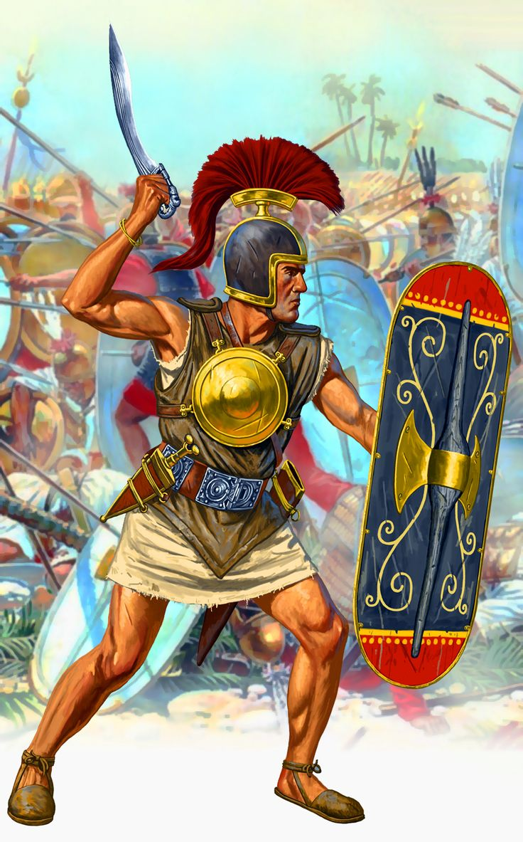 Carthaginian swordsman, Punic War