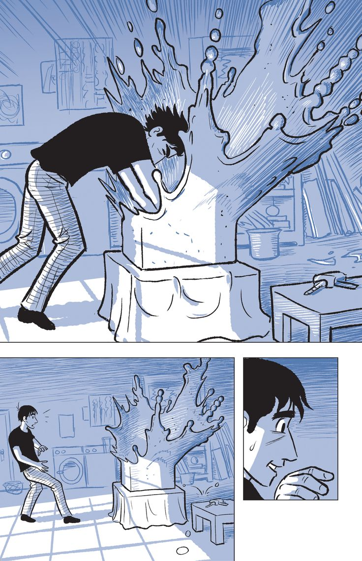 """THE SCULPTURE by Scott McCloud. """"A struggling young artist makes a deal with Death to unlock his true potential."""" - ala.org"""