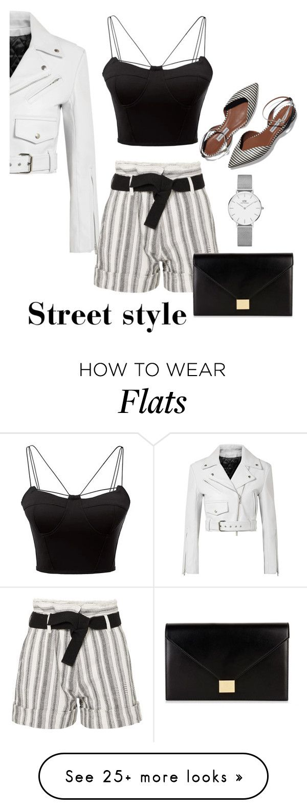 """""""Untitled #415"""" by newoneforyou on Polyvore featuring Calvin Klein 205W39NYC, WithChic, Vanessa Bruno, Victoria Beckham, Daniel Wellington, contestentry and nyfwstreetstyle"""