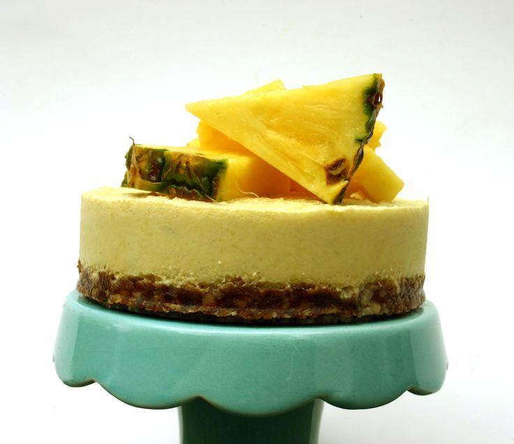 Paleo Pina Colada Cheesecake