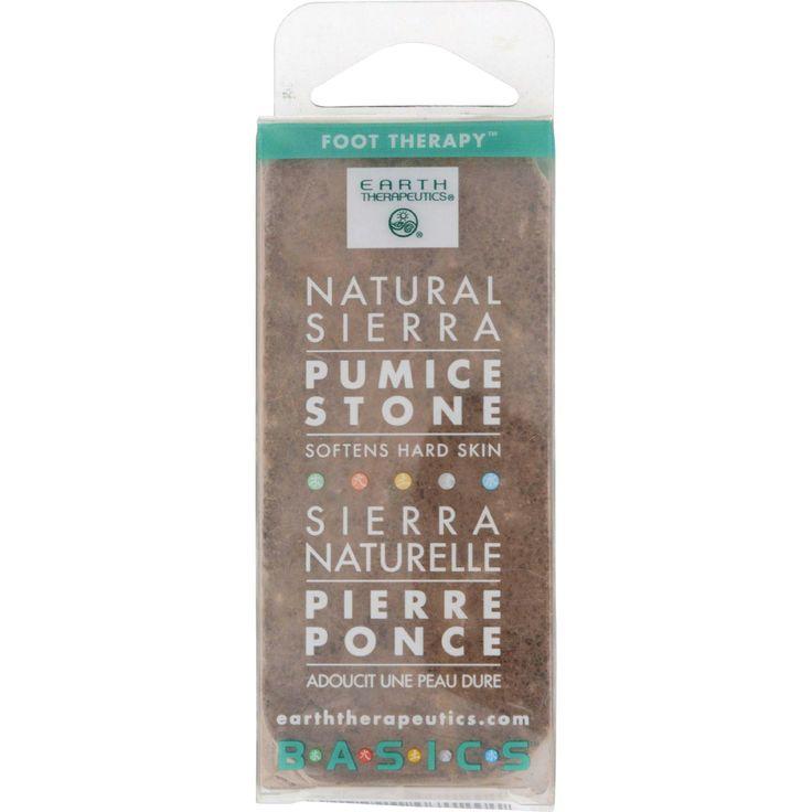 Earth Therapeutics Natural Sierra Pumice Stone - 1 Pumice Stone