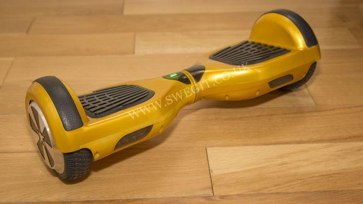 Gold-Swegit-Swegway-Front - #SwegIt #Swegway #HoverBoard #MegaBoard #UK #London #Cheap #Segway #Quality