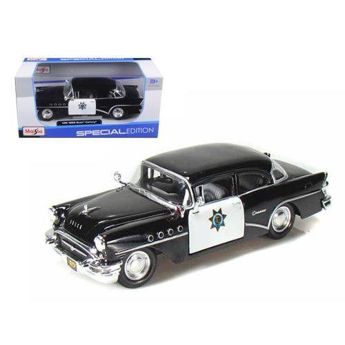 1955 Buick Century Police 1/26 Diecast Model Car by Maisto