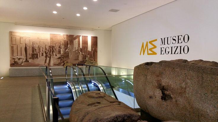 Ingresso del Museo Egizio di Torino #lamiatorino #Piemonte http://www.viaggiaescopri.it/museo-egizio-di-torino-cultura-antichita/