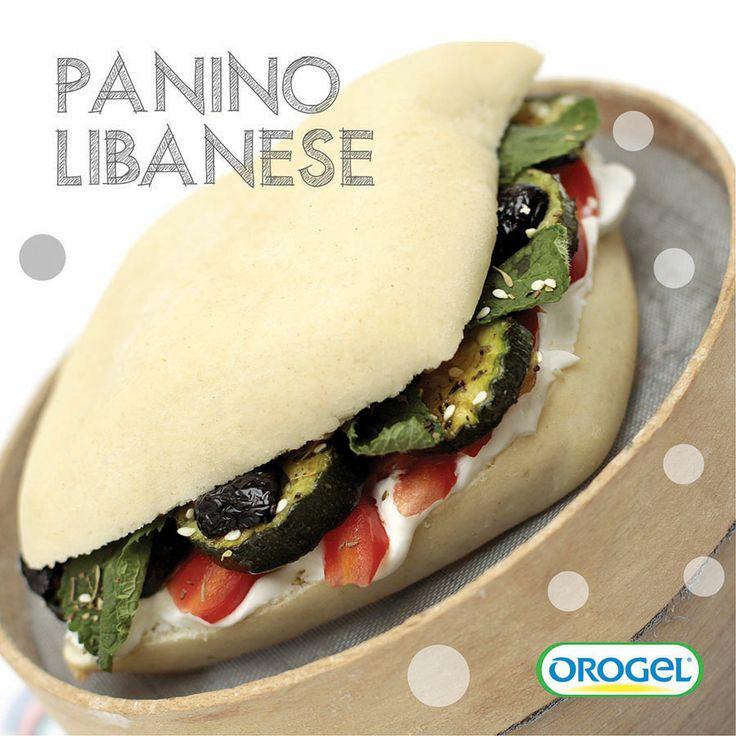 #zucchine grigliate, formaggio fresco e salsa zaatar!