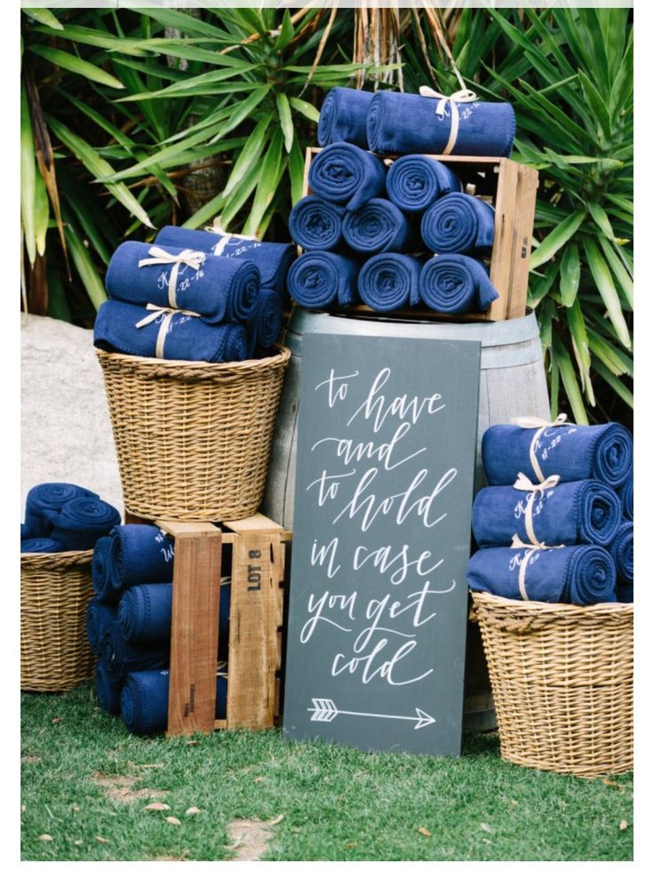 Personalised Blankets for your guests
