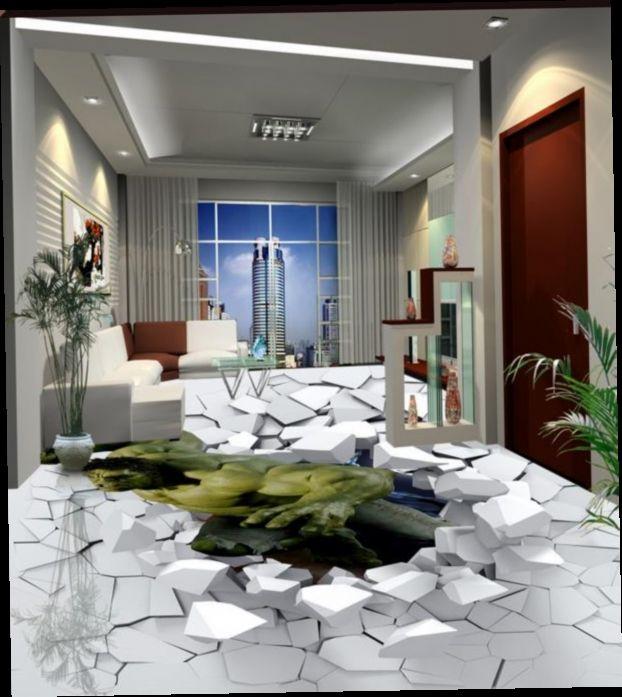 52.89$  Watch now - http://alivz4.worldwells.pw/go.php?t=32672903091 - High quality 3d floor murals hulk wallpaper for kids 3d floor tiles pvc waterproof 3d photo wallpaper rolls 52.89$