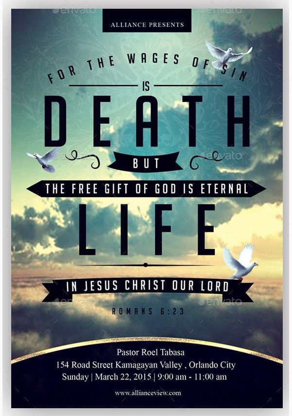 24 best Holy Spirit Flyer Templates images on Pinterest - christian flyer templates