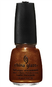"""""""Harvest Moon""""  Dubbed Colours of the Capitol, the collection will include 12 shades, each inspired by one of the districts of Panem. The collection will launch on March 1st in order to coincide with the release of The Hunger Games movie on March 23rd.Each limited-edition polish will retail for $7 and be available at China Glaze retailers like ULTA and Sally Beauty Supply. dvchic"""