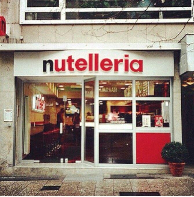 Nutelleria ♡ Frankfurt, Germany Are you kidding me!?!??!