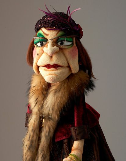 puppets | lady | by figurenschneider