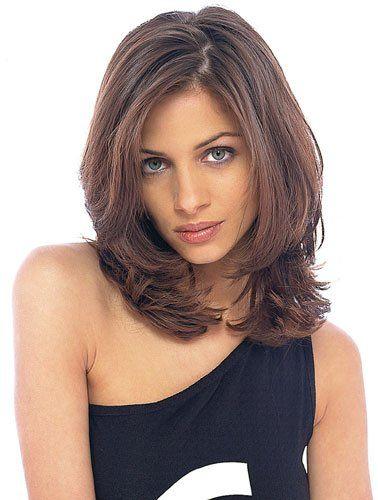 Более 25 лучших идей на тему 171 Стрижки для средней длины волос 187 на Pinterest Волосы средней