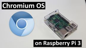 This is a quick tutoial on installing chromium OS on raspberry pi. This process can be done on Raspberry pi 3, raspberry pi 2, and raspberry pi zero. thanks ...