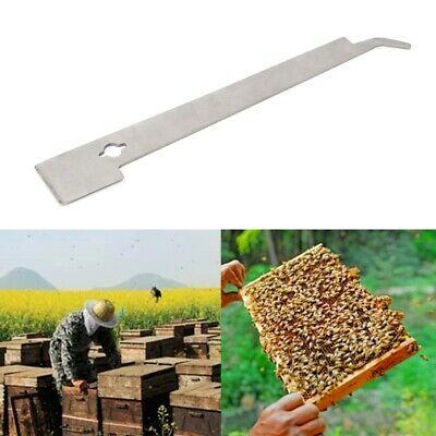Beekeeper J Shape Hive Beekeeping Bee Hook Equip Stainless Steel Scraper Tool US