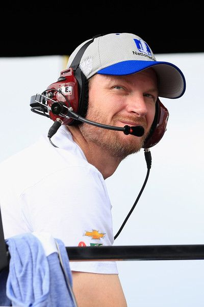 Dale Earnhardt Jr. Photos Photos - Dale Earnhardt Jr. sits in the pit box during the NASCAR Sprint Cup Series Citizen Solider 400 at Dover International Speedway on October 2, 2016 in Dover, Delaware. - NASCAR Sprint Cup Series Citizen Solider 400