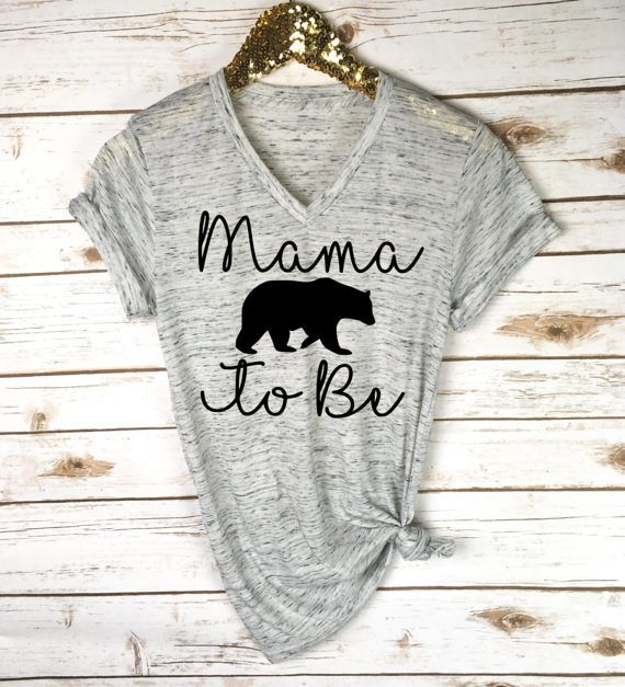 Mama Bear To Be Shirt - Pregnancy Announcement Shirt - Baby Reveal - Pregnancy Shirt - Baby Announcement - New Mom Gift - Mother's Day