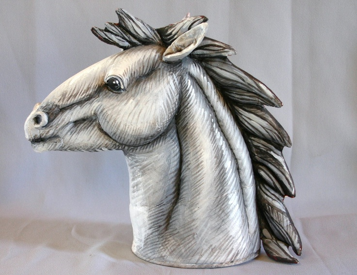 Soft sculpture horse
