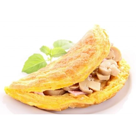 Omelette champignons Linéadiet (minceurmoinscher.com) En-cas hyperprotéiné Cette préparation pour omelette aux champignons hyperprotéinée est à la fois hypocalorique, savoureuse et onctueuse, pour s'intégrer parfaitement à votre régime. Dégustez-la au déjeuner ou au dîner et profitez des champignons gourmands dans la texture protéinée aérienne de l'omelette.