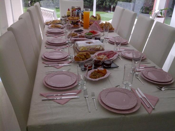 my breakfast table