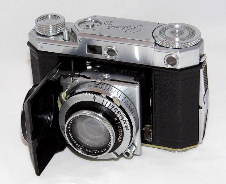 https://flic.kr/p/WGsTJU | Vintage Kodak Retina II (Type 142) Folding Camera, Retina-Xenon f/2 Lens & Compur--Rapid Shutter, Made In Germany From 1937 - 1939 | Auction Item 133 - To be auctioned by Cledis Estes Auctions II in Medina, Ohio.