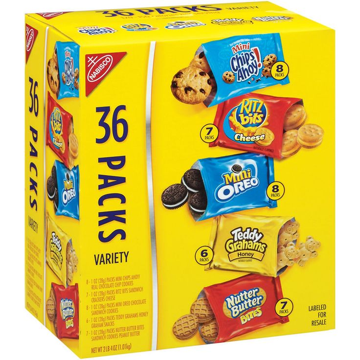 Nabisco Cookies & Crackers Variety Pack - 36 pk. - Sam's Club (for guests)