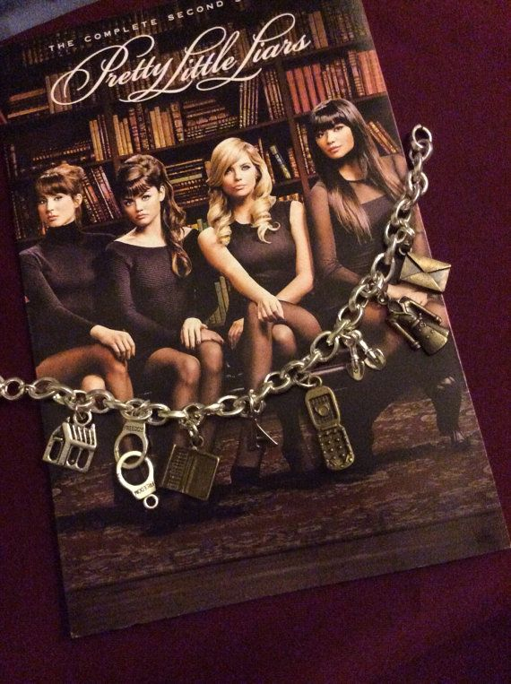 Pretty Little Liars Charm Bracelet ~ I WANT ONE!!!