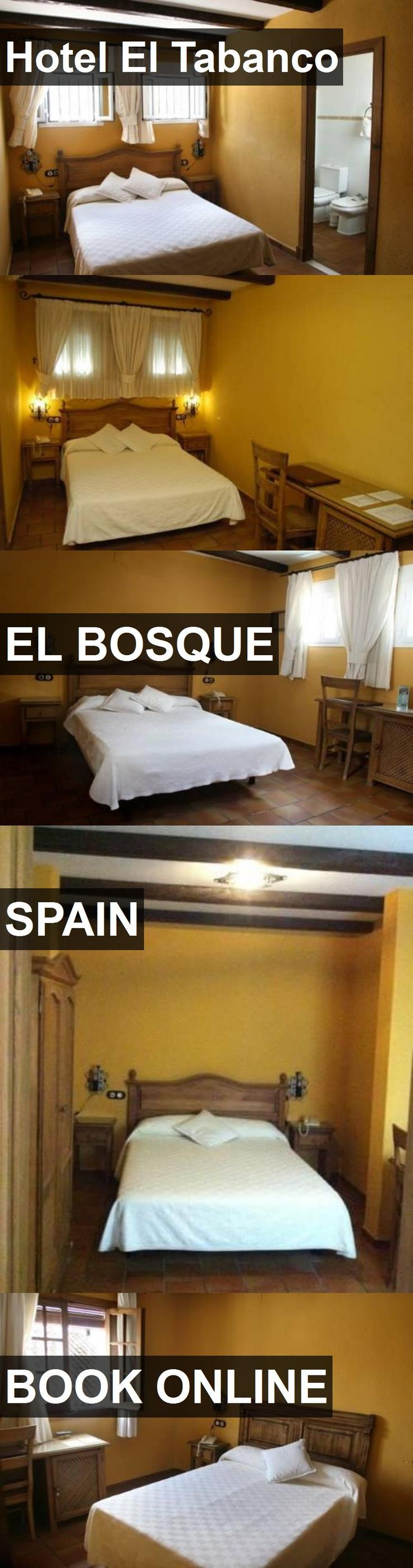 Hotel El Tabanco in El Bosque, Spain. For more information, photos, reviews and best prices please follow the link. #Spain #ElBosque #travel #vacation #hotel