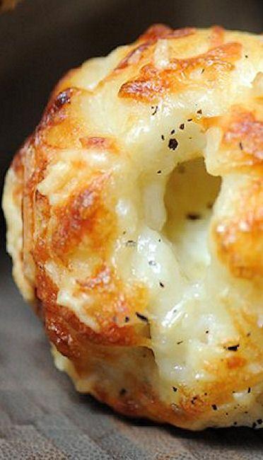 Cheesy Garlic Bites ~ cheesy, garlicy, crunchy coated magical morsel... so addictive!