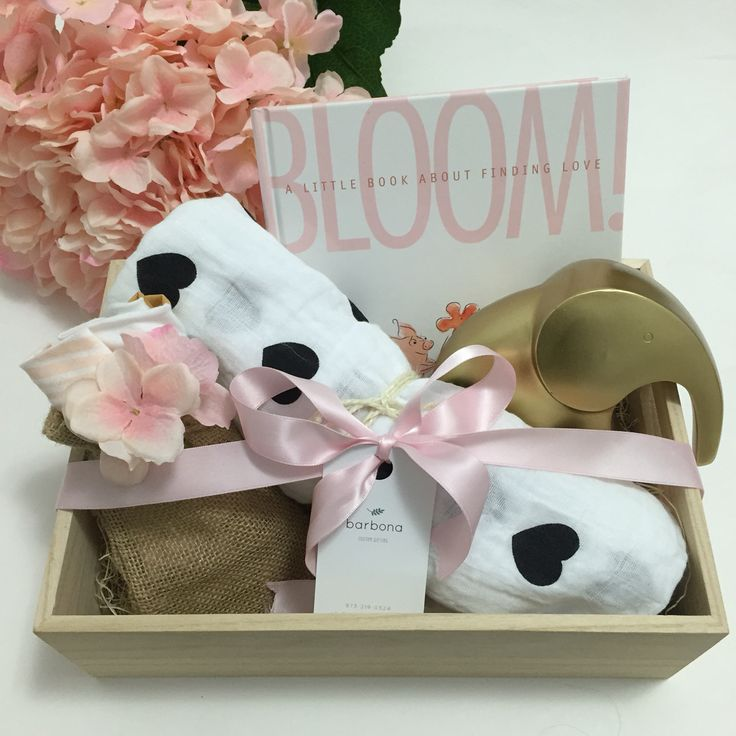 81 best toronto gift baskets by gifts for every reason images on baby girl custom gift box baby welcome basket pink bibs black and white negle Choice Image