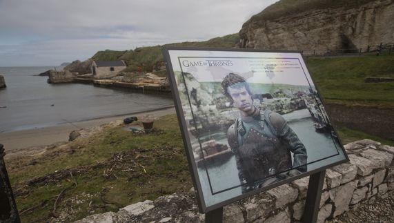 Het grondgebied van Game of Thrones™, Ballintoy Harbour in country Antrim