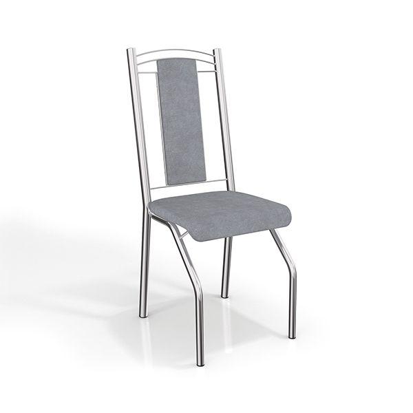 Gostou desta Par de Cadeiras Genebra Cromadas 2c065cr Estofado Linho Cinza - Kappesberg, confira em: https://www.panoramamoveis.com.br/par-de-cadeiras-genebra-cromadas-2c065cr-estofado-linho-cinza-kappesberg-3309.html