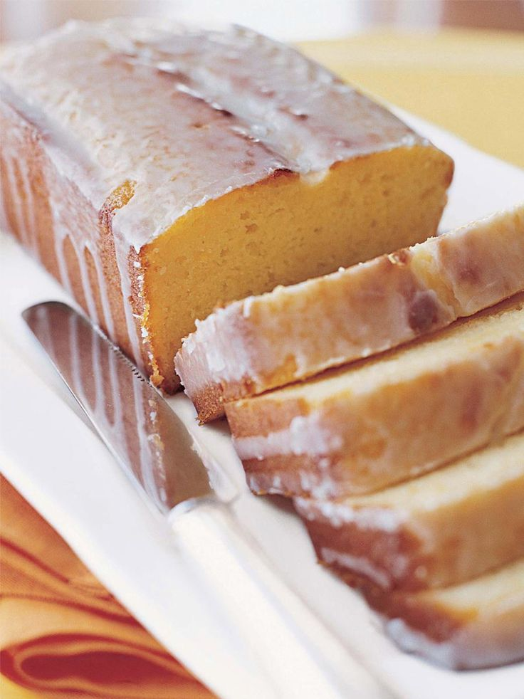 lemon yogurt cake - Ina Garten Pinterest