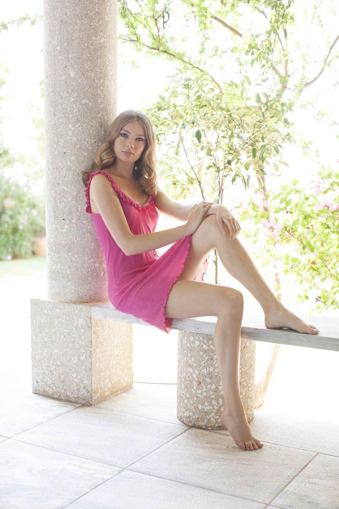 Short summer nightdress - Nota Lingerie