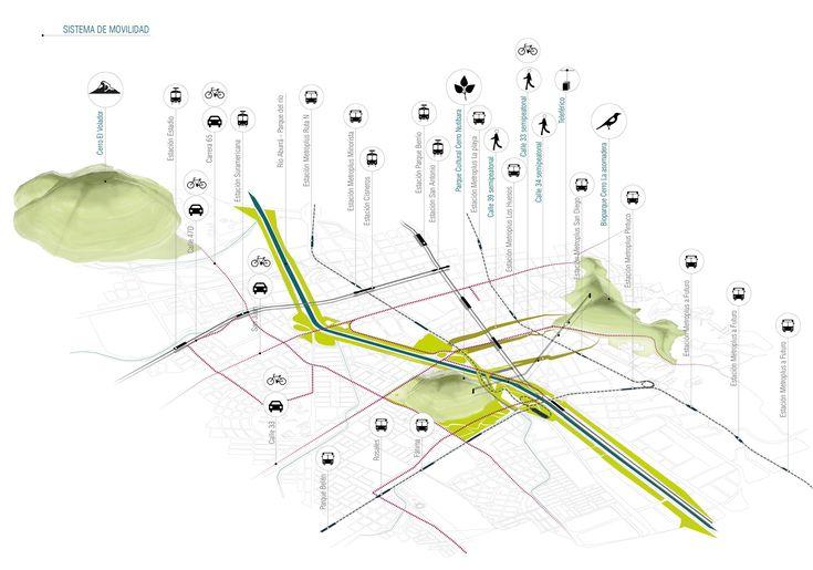 Galería - Célula Arquitectura, segundo y tercer lugar por plan maestro en cerros Nutibara y La Asomadera / Medellín - 29