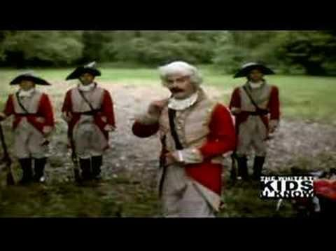 Hilarious video on the fighting styles of the British Army during the Revolutionary War.