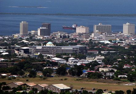 Downtown Kingston Jamaica | Downtown Kingston, Jamaica and the Port of Kingston