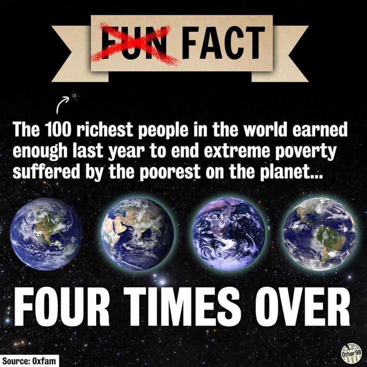 Inequality... it's killing us.