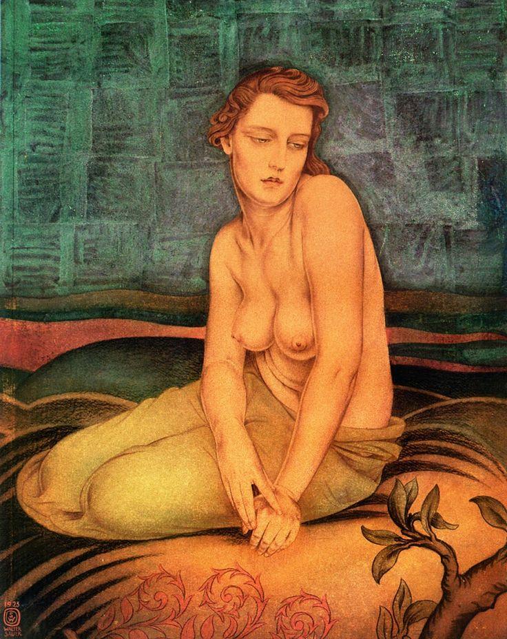 Walter Sauer (1889 – 1927, Belgian) - Woman