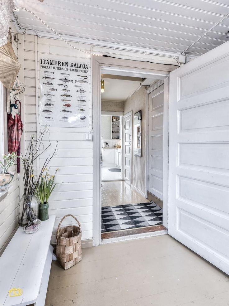 Vintage hallway entrance