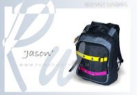 An 'obvious' Jason Product Details Bag Size: 33 x 42 x 15 cm Weight Bag: 525 gram Bag Type: Backpack Material funny ...
